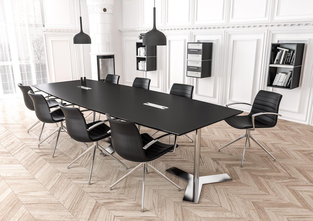 Klassisk Mødelokale Med Mødestole